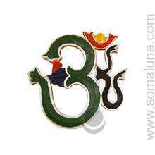 Painted Om Symbol
