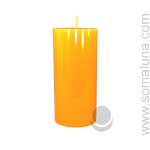 Honey Amber 6.5 x 3 Pillar Candle
