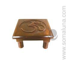 Om Carved Altar Table, large