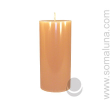 English Bone 6.5 x 3 Pillar Candle