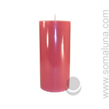 Country Mauve 6.5 x 3 Pillar Candle