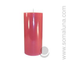 Country Mauve 6.5 x 3 Pillar Candle