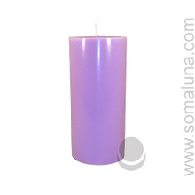 Lush Lavender 6.5 x 3 Pillar Candle
