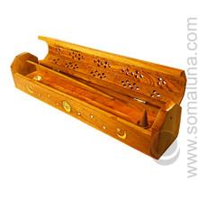 Celestial Filigree Box Incense Burner