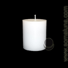 Angel White 3.5 x 3 Pillar Candle