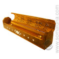 Triple Moon Box Incense Burner