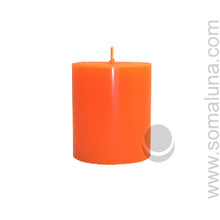 Mandarin Orange 3.5 x 3 Pillar Candle