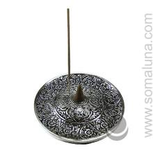 Tibetan Symbol Incense Burner 4.5 inch