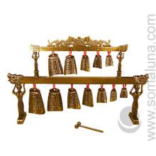 Twelve Bell Tibetan Gong Replica