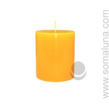 Honey Amber 3.5 x 3 Pillar Candle