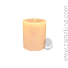 English Bone 3.5 x 3 Pillar Candle