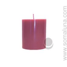 Country Mauve 3.5 x 3 Pillar Candle