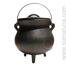 Quality Iron Cauldron, 7.5 inch