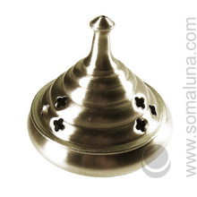 Silver Honeypot Incense Burner