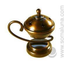 Bronze Genie Incense Burner