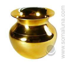 Brass Vase Offering Bowl
