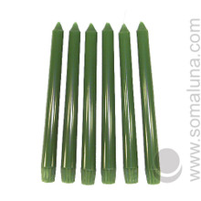 Tropical Green 10 inch Taper Candle