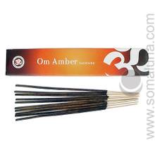 Om Amber Incense 15g