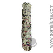 White Sage & Black Sage Large Smudge Wand