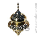 Brass Byzantine Censer Incense Burner