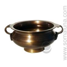Tibetan Bronze Bowl Incense Burner