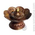 Tibetan Lotus Dhoop Censer Incense Burner