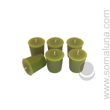 Springtime Green Votive Candle