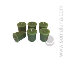 Tropical Green Votive Candle