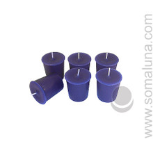 Midnight Blue Votive Candle