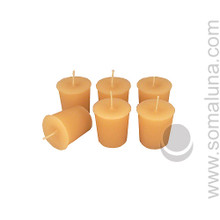 English Bone Votive Candle
