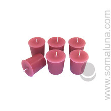 Country Mauve Votive Candle