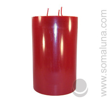 Black Cherry 9.5 x 6 Pillar Candle 3-wick