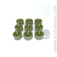 Tropical Green Tealight Candle