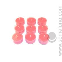 Lotus Pink Tealight Candle
