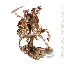 Valkyrie Statue. bronze