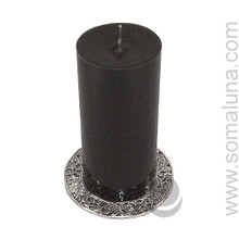 "Asta Mangala Candle Plate 4.5"""