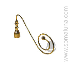 Bronze Candle Snuffer