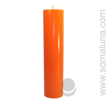 Mandarin Orange 12.5 x 3 Pillar Candle