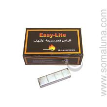 Easy Lite Hookah Charcoal Tablets