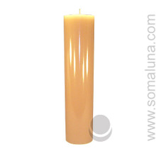 English Bone 12.5 x 3 Pillar Candle