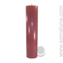 Country Mauve 12.5 x 3 Pillar Candle