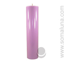 Lush Lavender 12.5 x 3 Pillar Candle