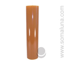 Antique Gold 12.5 x 3 Pillar Candle