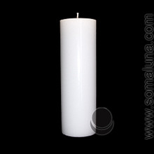 Angel White 9.5 x 3 Pillar Candle