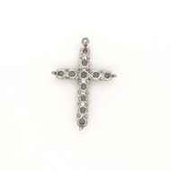 9010 Cross Pendant For Stones