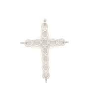 9020 Cross Pendant For Stones