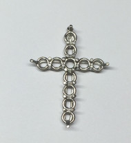 cross pendant ready for stones
