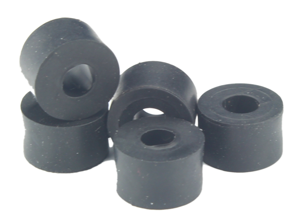 Jc Product Package Of 10 Single Hole Rubber Bushings Rb001