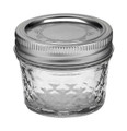 Quilted Crystal Ball Jar 4 oz