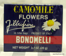 Camomile Flowers Bonomelli Tea